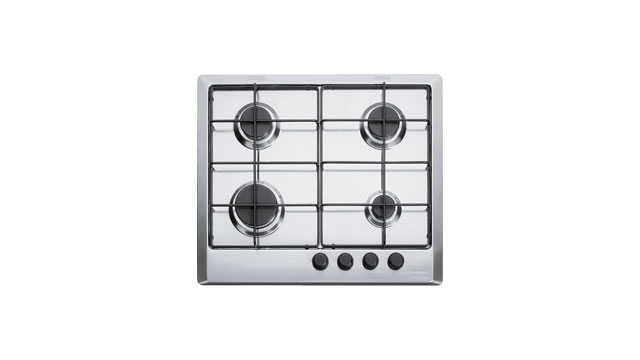 FHMR 604 4G XS E MULTI COOKING MR PIANO COTTURA FRANKE 4 FUOCHI A GAS 60 CM  INOX SATINATO 6600034 106.0049.038